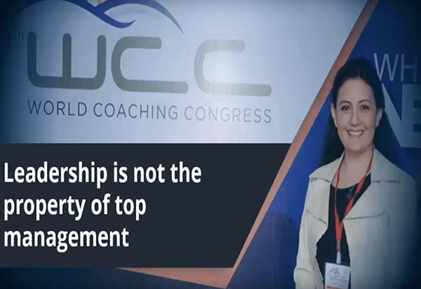 World Coaching Congress Feb 2016- Leadership is not the property of top management